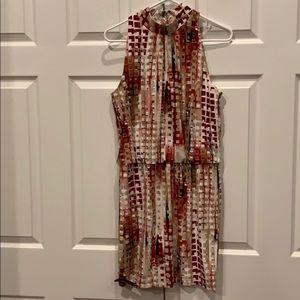 White House Black Market Sleeveless Dress Sz Small